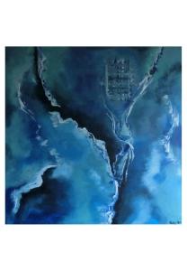 040-w Blaue Strudel