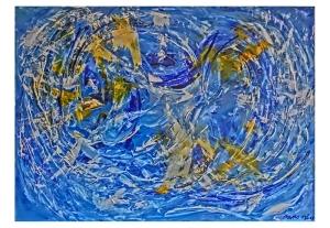 047-w Blaue Wirbel
